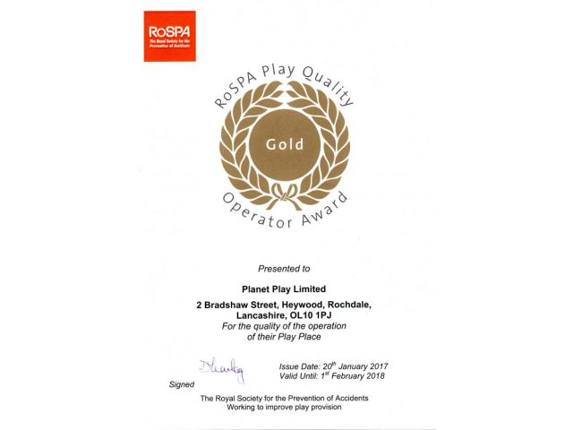 RoSPA Gold Award 2017 jpeg
